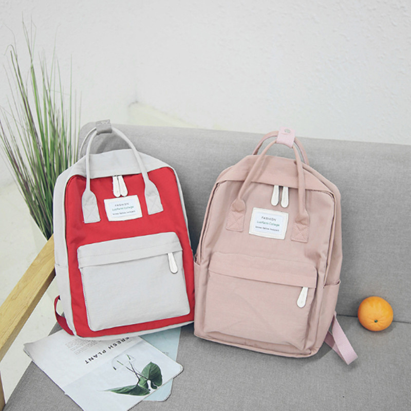 Boys girls Waterproof Oxford cloth backpack Student Mommy women Leisure Travel Backpack collage school book bag