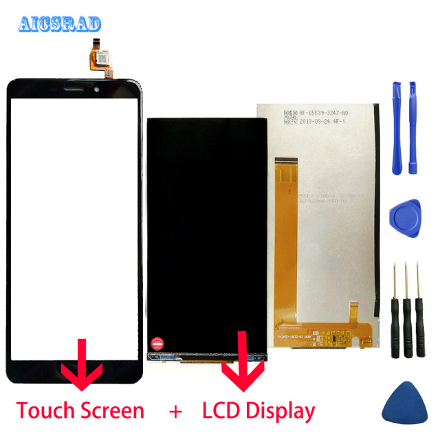 AICSRAD original For cubot nova LCD display and Touch Screen Assembly perfect repair part nova +Tools