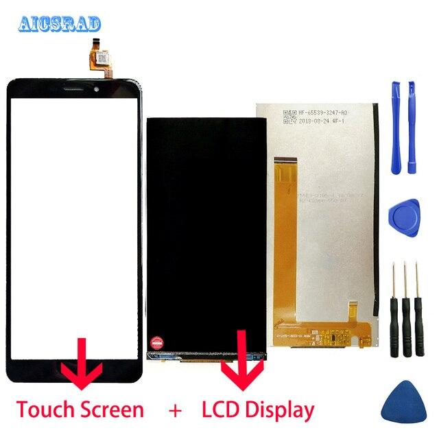 AICSRAD orijinal cubot nova lcd ekran ve Dokunmatik Ekran Montaj mükemmel onarım parçası nova + Araçları
