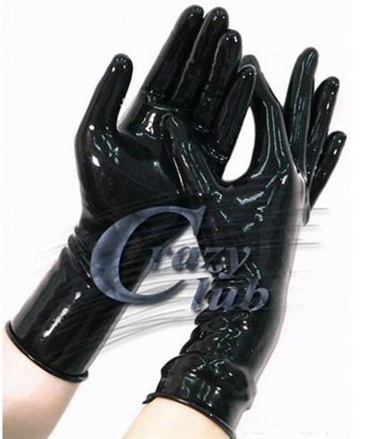 New Latex Zentai Gloves Arm Length Zip With Arrow Gloves Latex Slip Rubber Glove Latex Fabric Body Glove Fetish