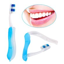Portable Compact Fold Foldable Folding Toothbrush Travel Camping Hiking Outdoor Easy To Take Tooth Beauty Care Protect