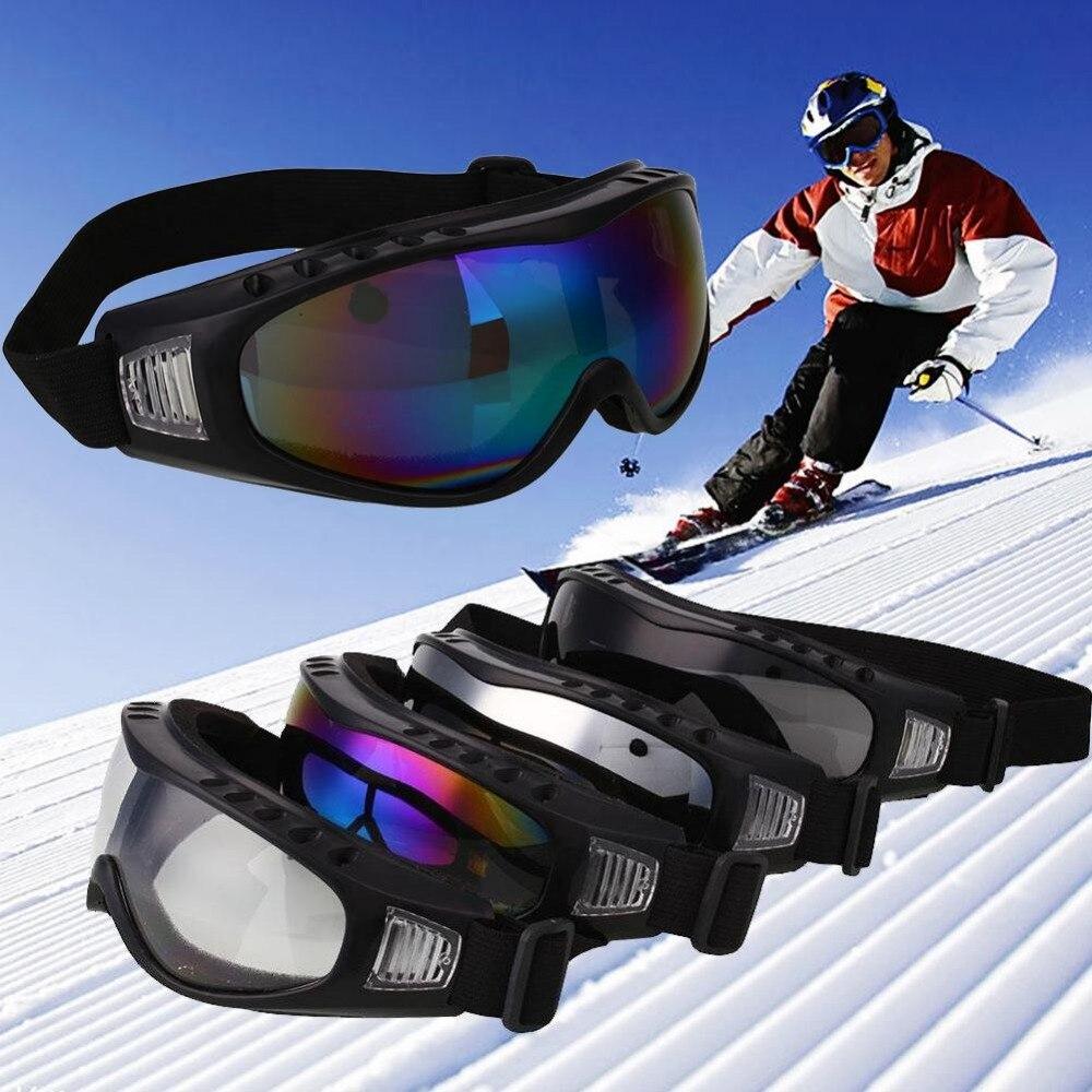 Открытый Спорт Мотоцикл ветер Airsoft очки защиты велосипеда Лыжный Спорт road anti песок лыжный Очки Лыжный Спорт Туризм Отдых оборудования