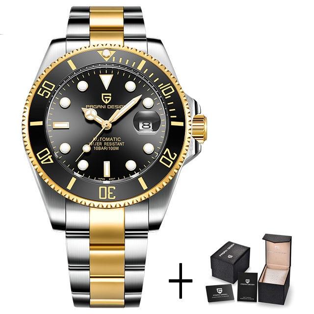 gold black B
