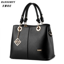 100% Genuine leather Women handbags 2017 New package sweet lady temperament fashion handbags Shoulder Messenger Handbag
