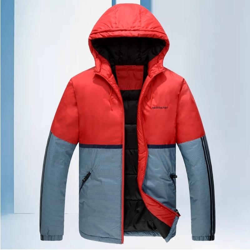 цены на Winter The Fat Cotton-padded Increase Down Thickening Cotton Increase Enlarge Code Leisure Time Loose Coat Youth Jacket в интернет-магазинах