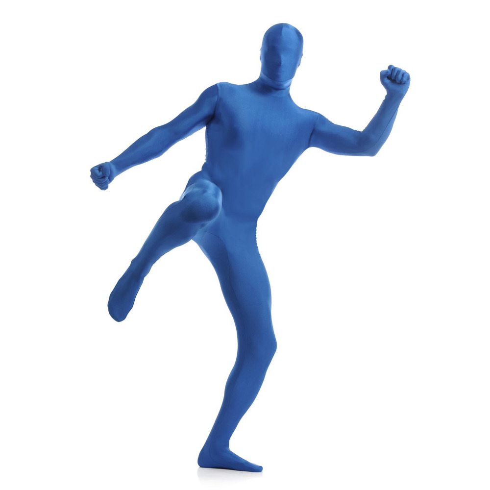 Unisex Adult Men' Spandex Lycra Full Body Zentai Suit