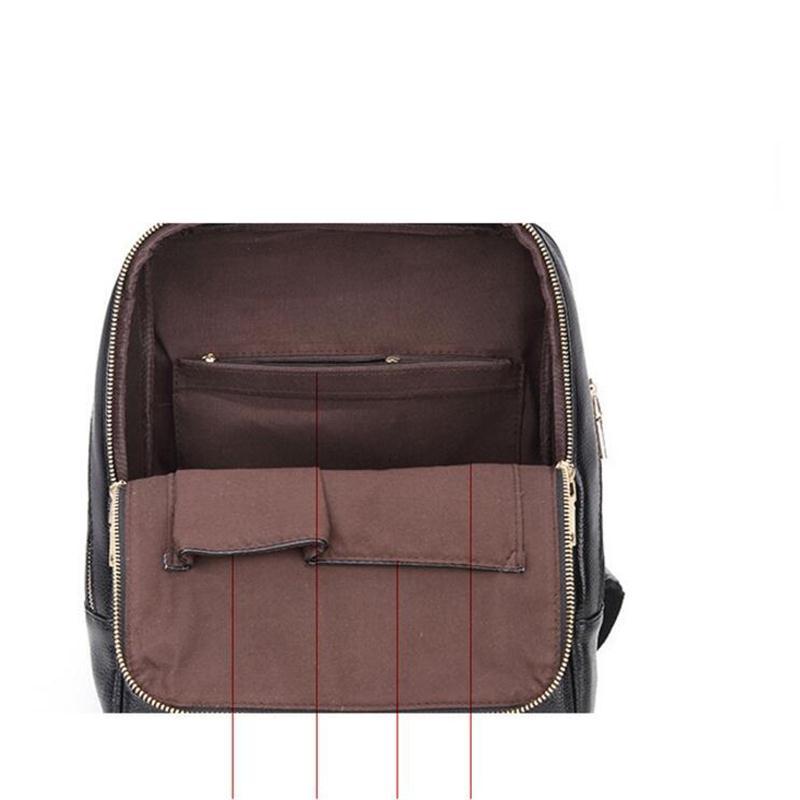 Genuine Leather Backpack Women Backpacks Soft Leather Female School Bags For Girls Hot Fashion Women Backpack Taravel Bag #6