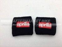 Motorcycle Front Brake Reservoir Sock Oil Fluid Tank Cover Sleeve For Aprilia RSV4 TUONO V4R SL1000