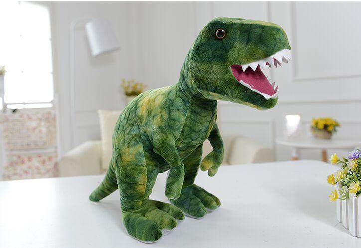 Большой 55 см мультфильм динозавра тираннозавр плюшевые игрушки куклы подушка подарок на день рождения B0144