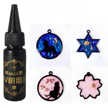 25g UV Resin Ultraviolet Curing Resin Solar Cure Resin Sunlight Activated DIY Jewelry