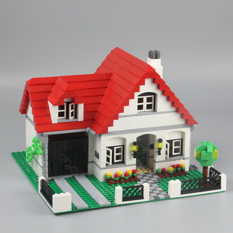 Lepin 24027 City Series Castle the American Style House DIY Building Blocks For Girls Children Toys Christmas Gift 4956 Legoings