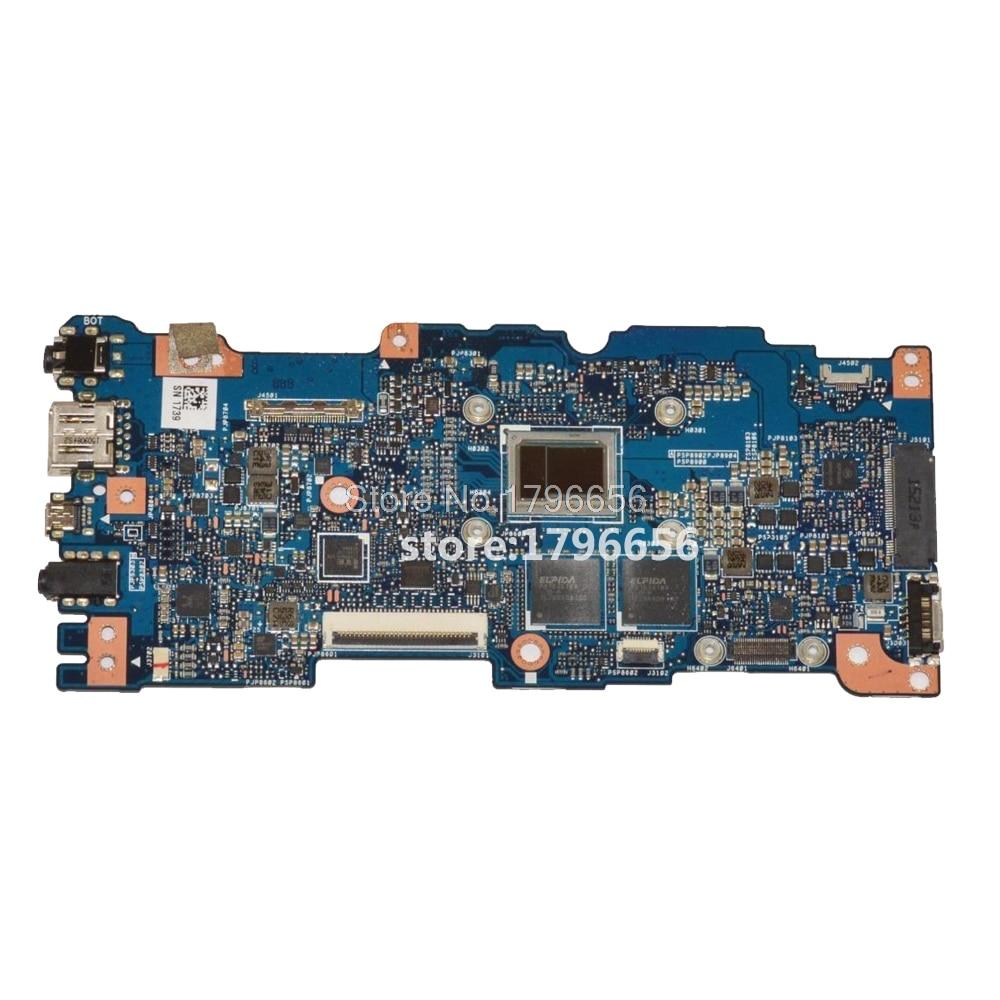 Exchange !  UX305CA Laptop motherboard For ASUS UX305C U305C U305CA  Mainboard 100% tested with processor M3-6Y30 4G RAM