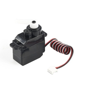 Image 4 - 7.5g Plastic Gear Analog RC Servo 4.8 6V for Wltoys V950 RC Helicopter Airplane Part Replacement Accessaries