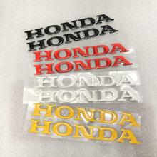Moto carro de alta qualidade 3d 3 m etiqueta fit para o logotipo honda CBR 600 F2, F3, F4, f4i CB1000R CBR900RR CBR929RR CBR954RR VFR800