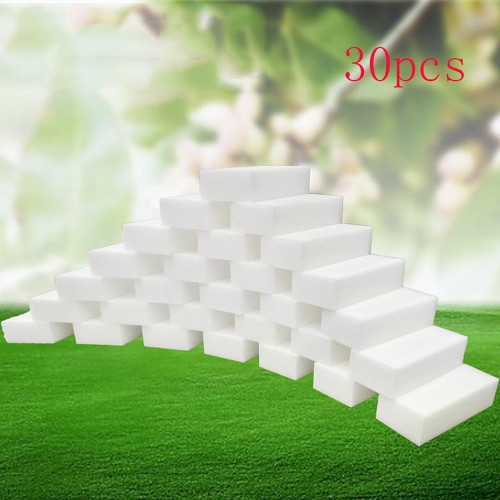 35 Pcs White Magic Sponge Eraser Cleaning Melamine Foam Cleaner Kitchen Pad Useful Soft Sponge Cleaner High Quality