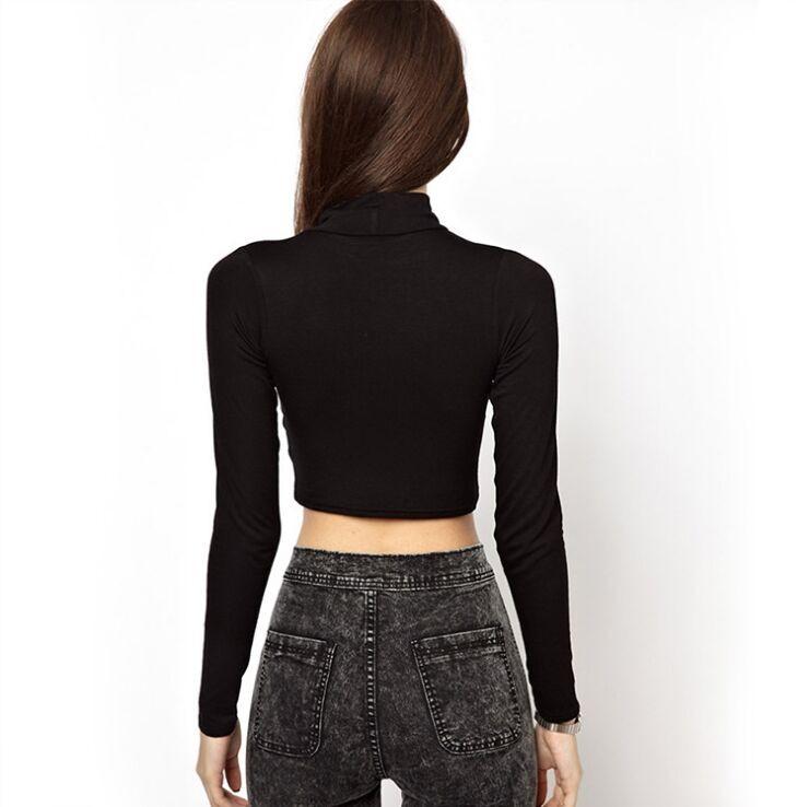 Swaggy HTB1wNh0OpXXXXc6apXXq6xXFXXXK Elastisches Langarm T-Shirt One Size Frauen