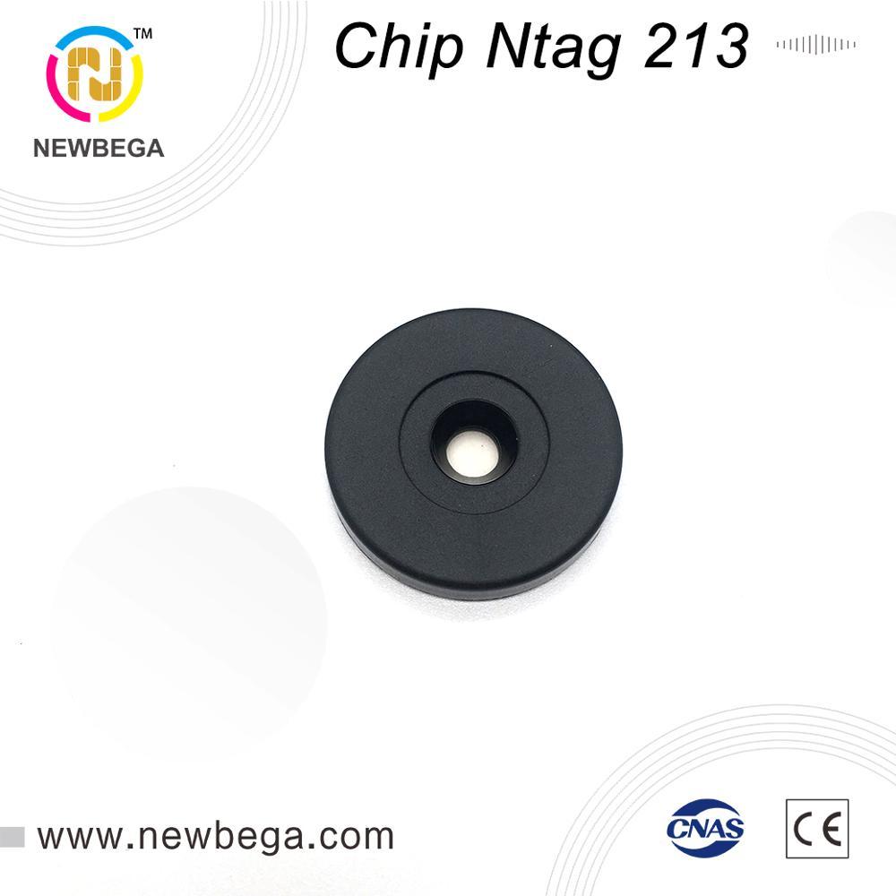 1000PCS RFID NFC Patrol Label Anti-metal Chip Ntag213 Sticker Diameter 30mm 13.56MHz RFID Tag Free Shipping Fast Delivery