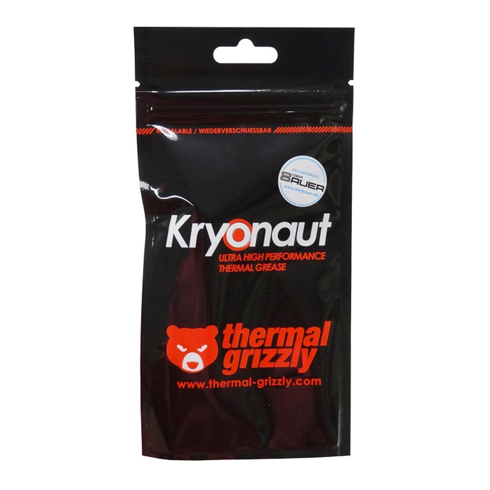 Thermal Grizzly Kyronaut 1g / 5g PC Graphics card CPU GPU Cooling liquid metal Thermal Compound Cooler Thermal Grease/paste