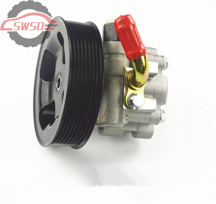 Power Steering Pump Fit For Range Rover 2.7L Diesel Sport 05-06 Discovery 1/2/3/4 Freelander Discovery OEM QVB500400 LR006613B power steering pump for land rover defender 90 2007 lr009817 lr031518
