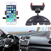 Alloet Универсальный автомобильный держатель телефона 360 Вращение компактный держатель для автомобиля держатель колыбели для samsung huawei Xiaomi мобильные телефоны