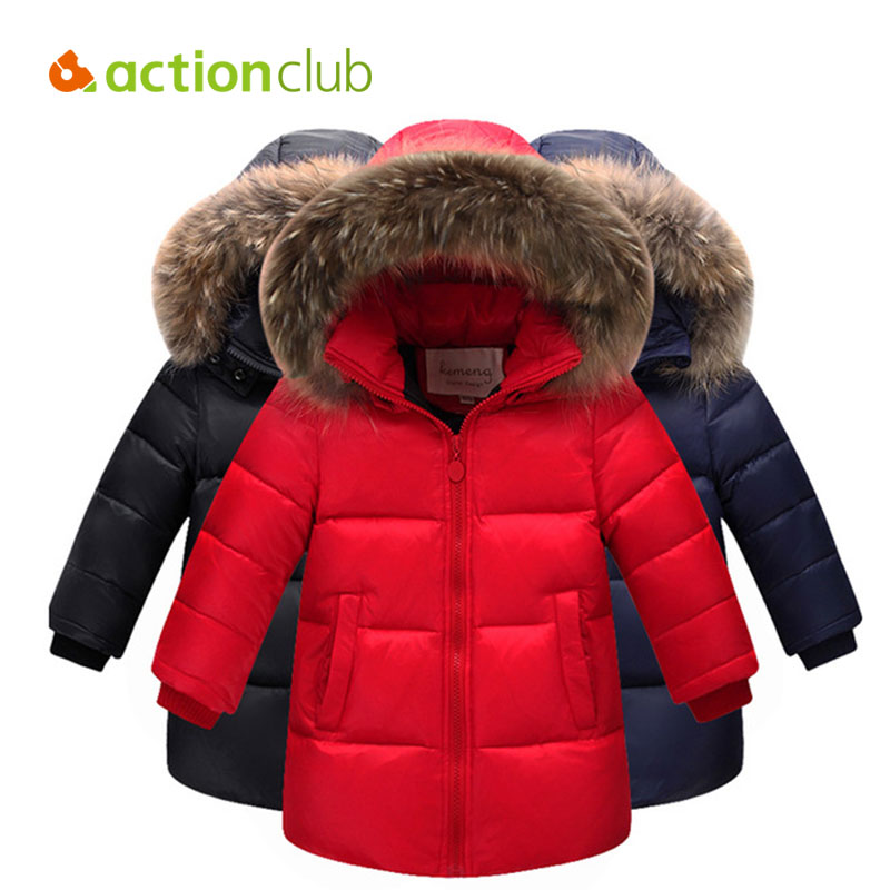 Подробнее о Actionclub Boys Girls Winter Down Jacket Children Warm Outerwear Kids Hooded Down Jacket Coat Boys Fashion Winter Clothing new 2017 baby boys children outerwear coat fashion kids jackets for boy girls winter jacket warm hooded children clothing