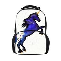 Fashion Cute Unicorn Horse Male Boys Backpacks Cartoon Backpacks Women Girls School Bags cool travel Backpack
