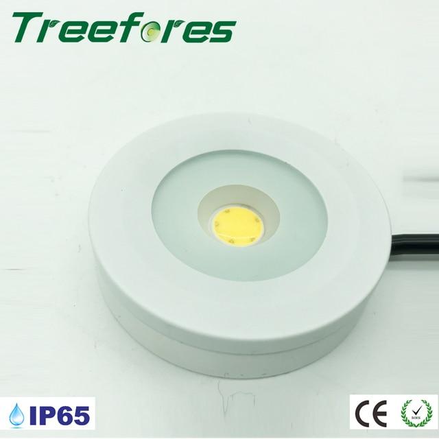AC 110V 120V 220V 230V 240V 3W IP65 Slim Led Cabinet Lamp 14mm Thin Led Downlight CE RoHS Mini Led Spot Light for Home Interior