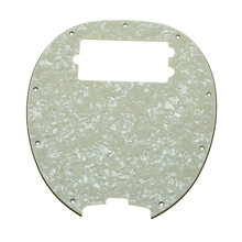 Bass Pickguard MusicMan Stingray MM4 Scratch plate for Music Man MM2 4 String Guitar Parts Aged Pearl(China)