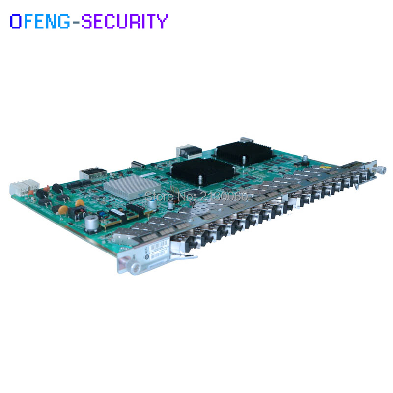 Original ZTE Card ZTE Board 16 Ports GPON OLT GTGH Card with 16pcs C+ SFP Modules for C300 C320 OLT