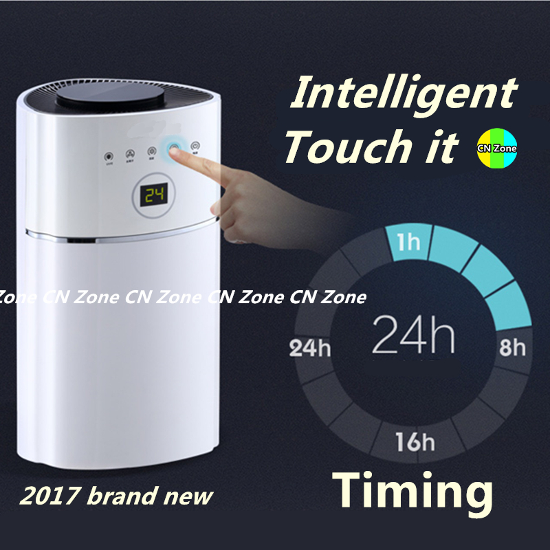 Free shipping electric intelligent dehumidifiers Timing UV light purify air dryer machine moisture absorb Smart Home