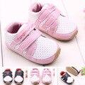 Nuevo Diseño 1 pair Marca Baby Girl/Boy Al Aire Libre Zapatillas de Deporte del niño/bebé Zapatos de Suela Suave, de alta calidad zapatos de goma