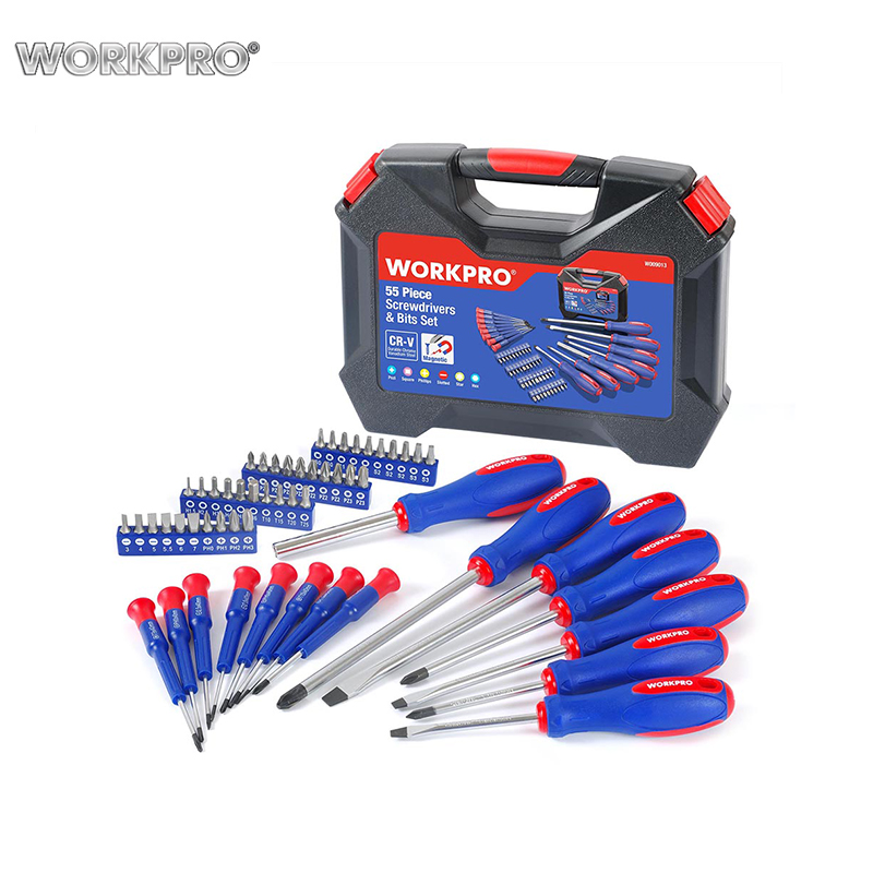 Set of Tools screwdrivers WORKPRO W009013A Hand Tool Set