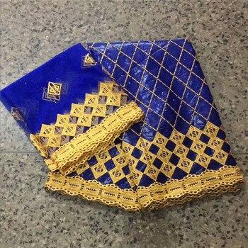 2019 bazin riche getzner bazin brode getzner royal blue bazin riche fabric fabric bridal lace high quality 7yard/lot   3l65-1645