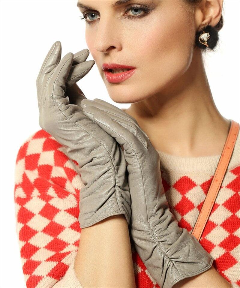 Перчатки женские длинные трикотажные под вечернее платье