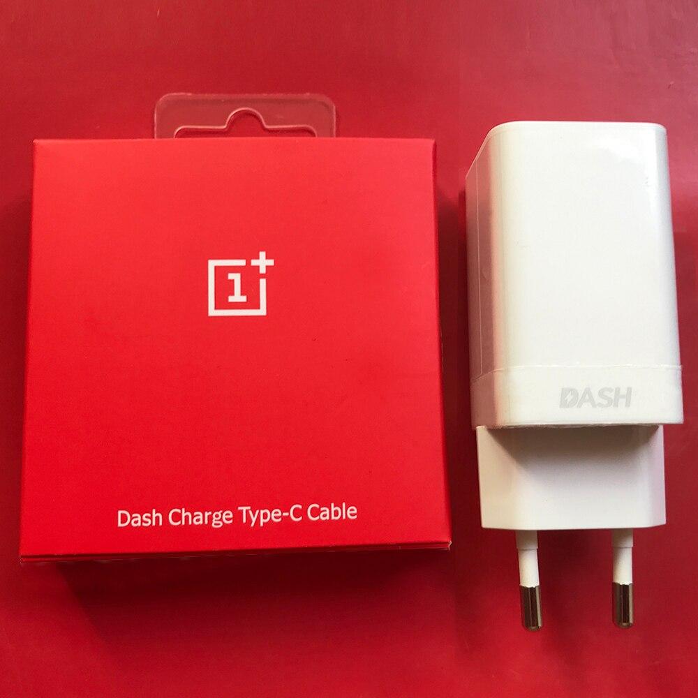 Boîtier d'origine, pour la charge rapide avec câble, adaptateur type C, prise européenne et USA de pour One Plus 7, 1 + 6T, 5T, One plus 3, T/1 + 5,5 V 4 A,