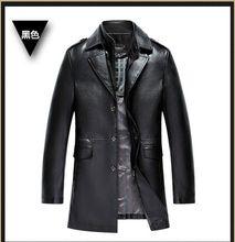 HOT Greatest promoting leather-based jacket, leather-based, mandarin collar, sheepskin, coat, male, the person of leather-based jackets, males leather-based jacket