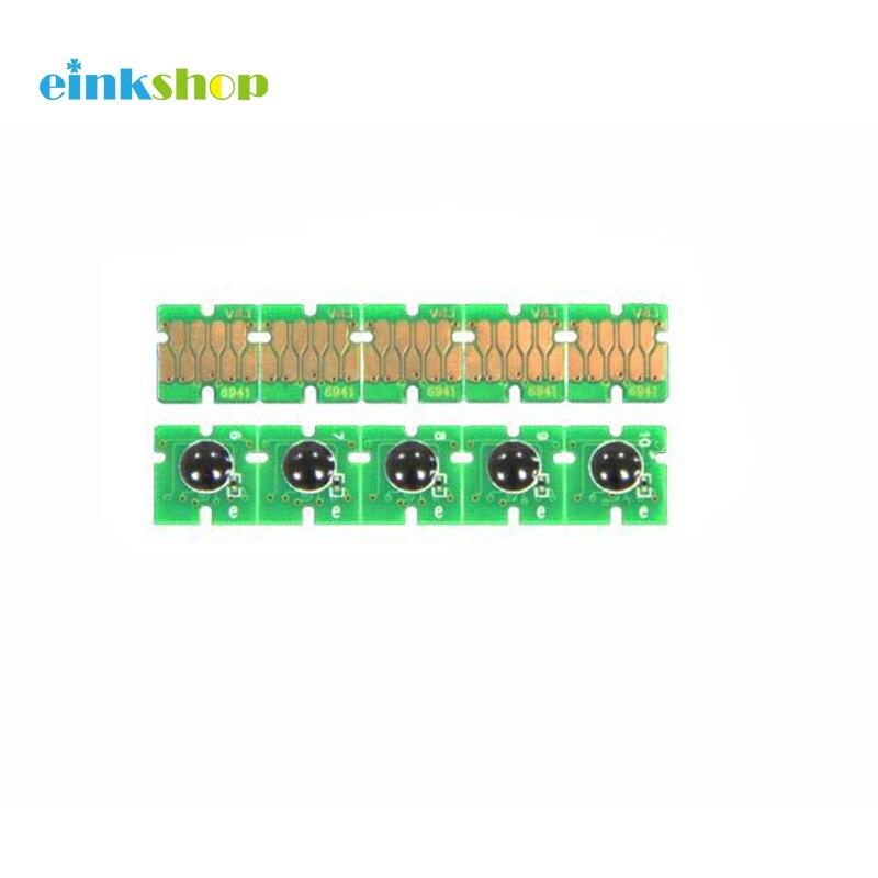 Einkshop Para Epson T0481 T0482 T0483 T0484 T0485 T0486 ARC chip para EPSON R200 R220 R300 R320 R330 R340 RX500 RX600 RX620 RX640