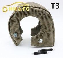 Hmfc titanium turbo тепловой щит t3 турбо одеяло подходят: t2, t25, t28, gt28, gt30, gt35, и наиболее t3 turbo