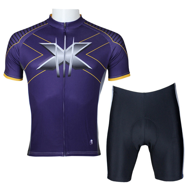Superheroes  Wolverine Cycling Clothing Short Sleeved  Spring and Summer mens cycling jersey BMX mountain bike cloth