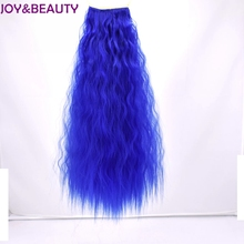 Радость и красоты 60 см длинные курчавые вьющиеся волосы конский хвост шиньоны шнурок хвостики Синтетический Наращивание волос штук Плутон