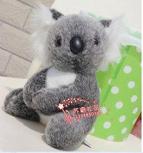 small cute dark gray koala plush toy long stuffed koala doll birthday gift about 22cm