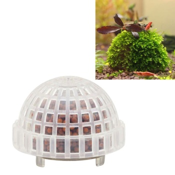 1 Pcs DIY Aquarium Fish Tank Media Moss Ball Filter Decor for Live Plant Fish Aquatic Decorations Fish Supplies