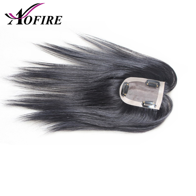 100% Human Hair For Women And Men 10*7 Size Pre Plucked Natural Hairline 8-12 Brazilian Remy Hair With Clips