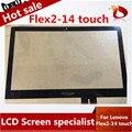 """Original 14 """"portátil de pantalla táctil digitalizador para Lenovo IdeaPad Flex 2 14 Flex 2 14D Reemplazo De Cristal Táctil"""