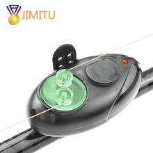 2019NEW Automatic fishing rod Bite Fishing Alarm JIMITU LED Light Indicator Wireless Buffer Black Sound Carp Night