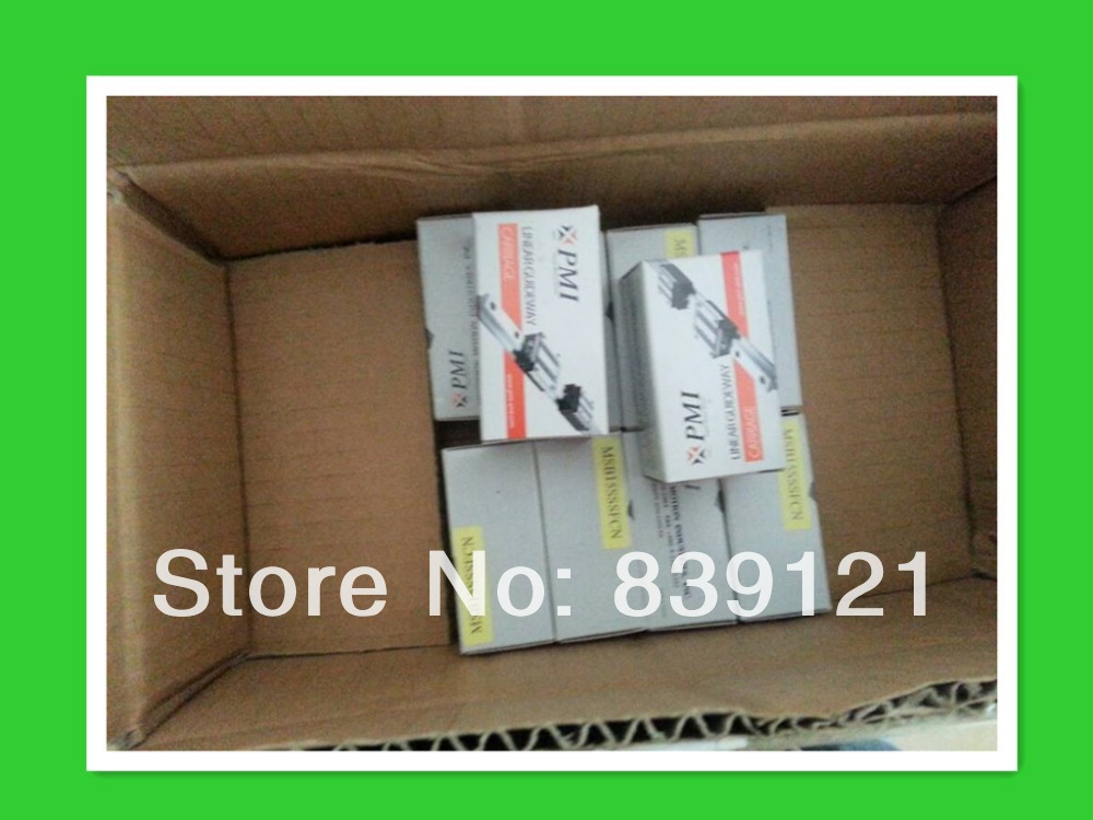 Wholesales for Original Linear guideway PMI MSA45LS block stocked fast delivery canon pgi 450pgbk black картридж для pixma mg6340 mg5440 ip7240
