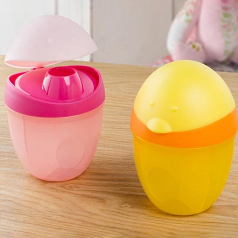 Tragbare Kunststoff Pinguin Milchpulver Box Drei Schicht Formel Dispenser Holz-nahrungsmittelbehälter Speicherbehälter Fütterung Box Für Baby Kinder Kleinkind Mutter & Kinder Fütterung