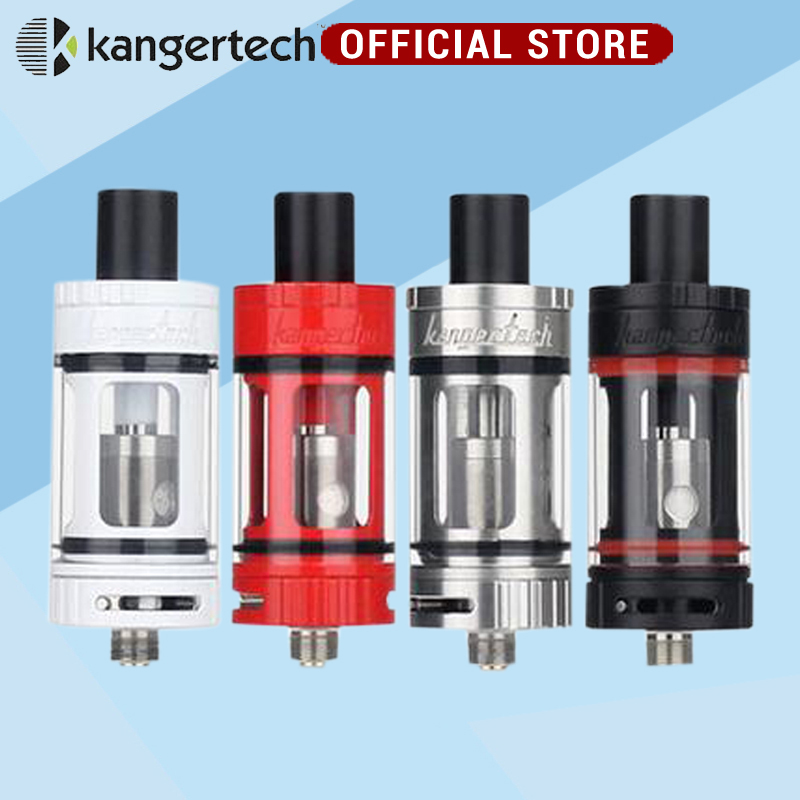 3pcs/ 100% Original Kanger Toptank Mini Atomizer 4.0ml Top Refilling Sub Ohm Tank with  Delrin Drip Tip for free shipping