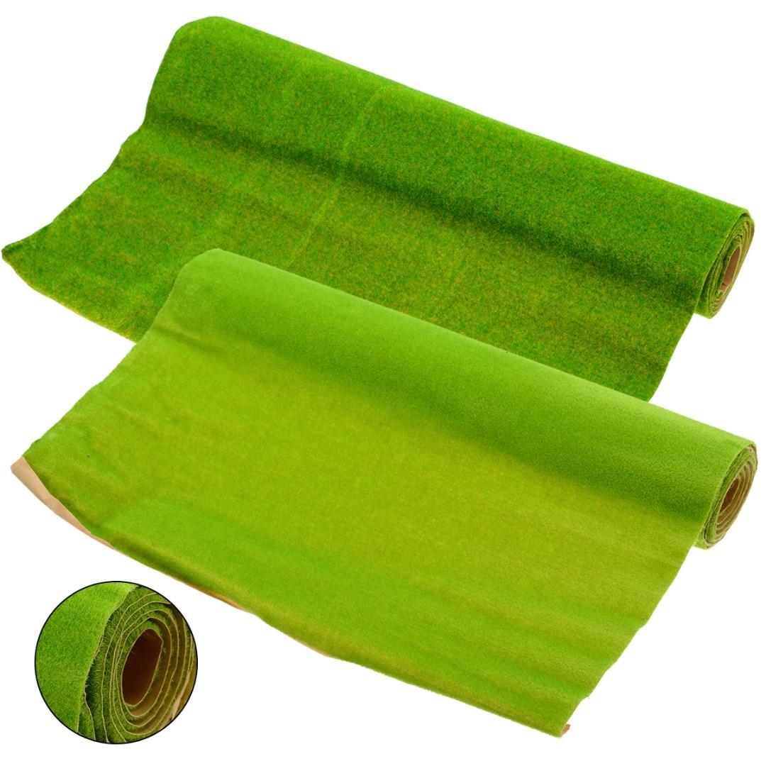Garden Artificial Grass Lawn Turf Mat Carpets Landscaping Home Floor Wedding Decoration Artificial Lawn 3 Color