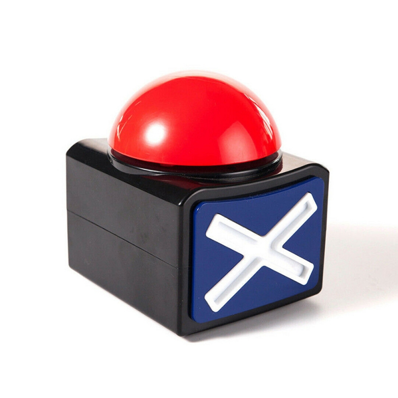 Portable Game Show Answer Button Buzzer Alarm Buttons With Sound And Light For Games/Classrooms Game Show Answer Button